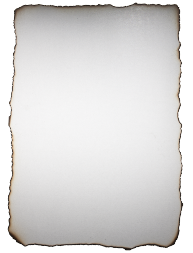 Burnt Paper Background White - High Resolution