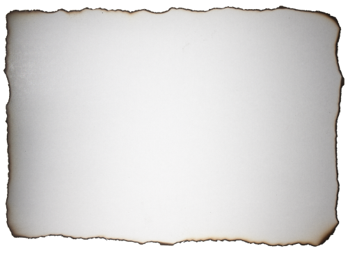 Burnt Paper Background White HD