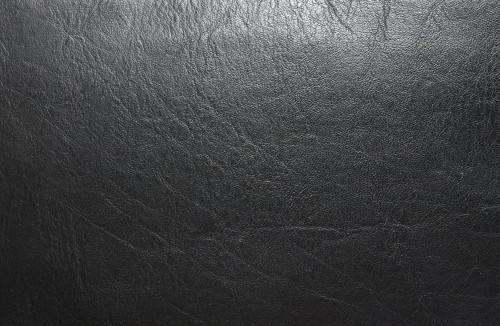 Black Leather Material Texture Background