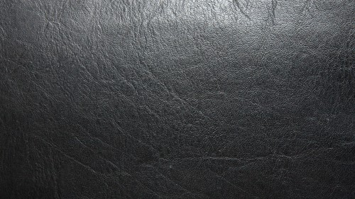 Black Leather Material Texture Background HD