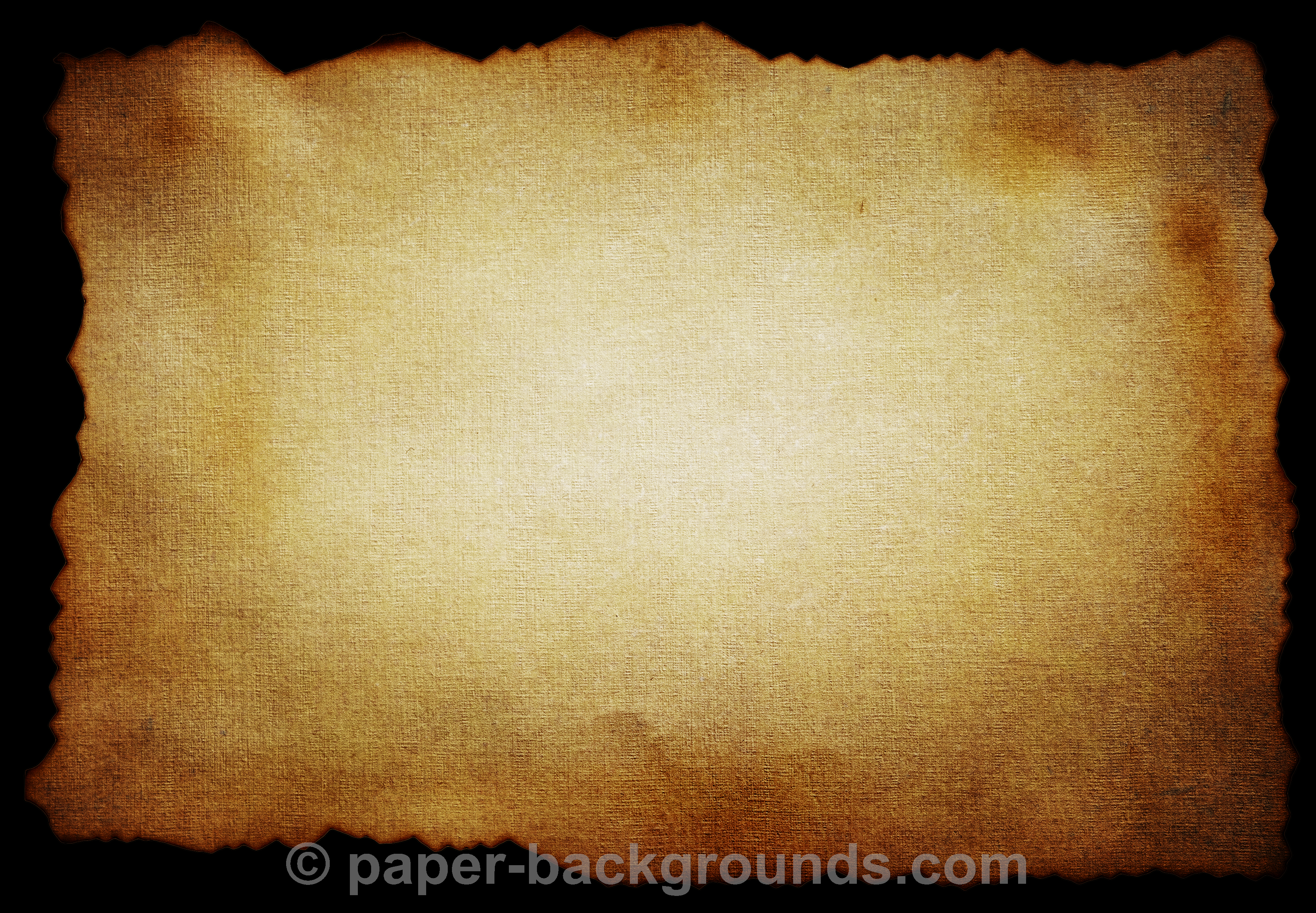 Old Burned Vintage Paper Texture