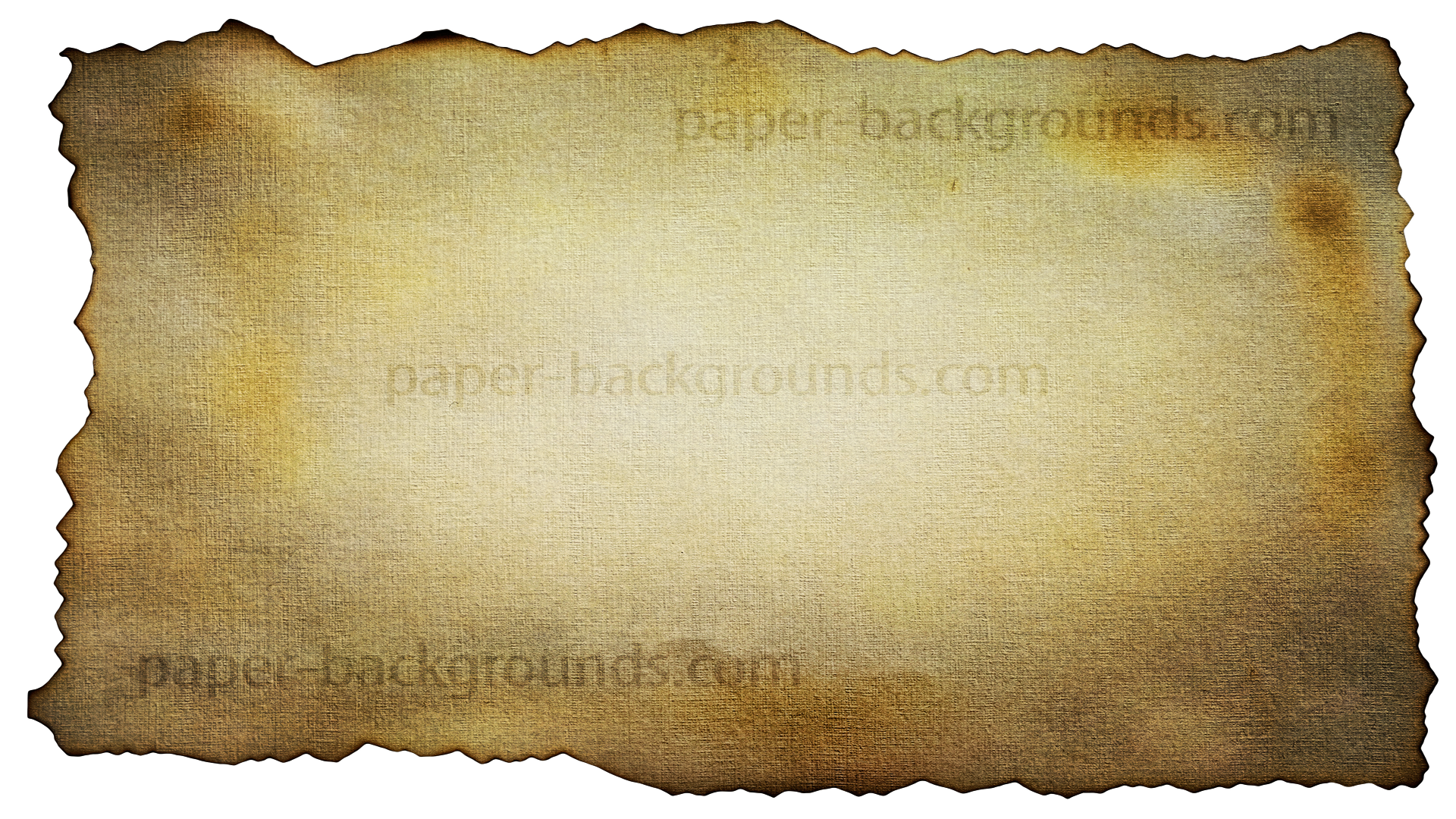 Old Grunge Burned Paper Edges Background Free HD