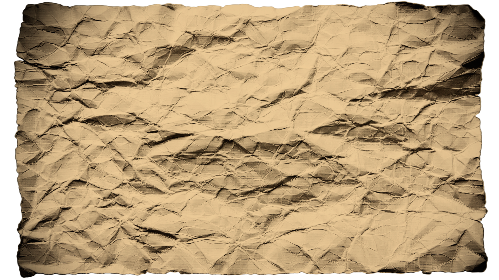 Old Wrinkled Paper Background HD
