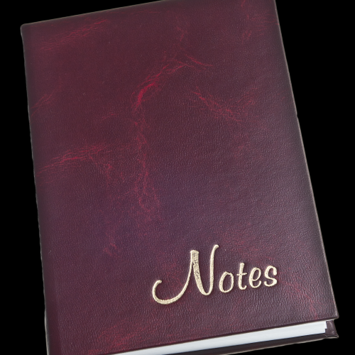 Closed Notebook Cover - Layered Object