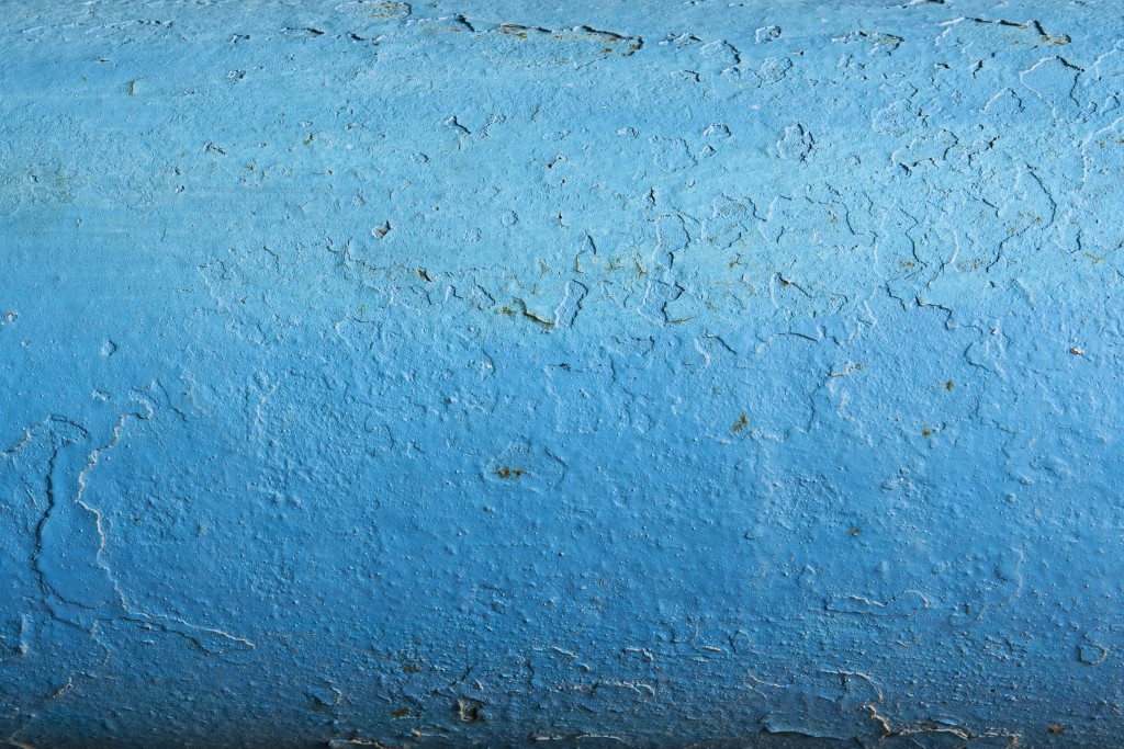 Rugged Blue Painted Metal Texture