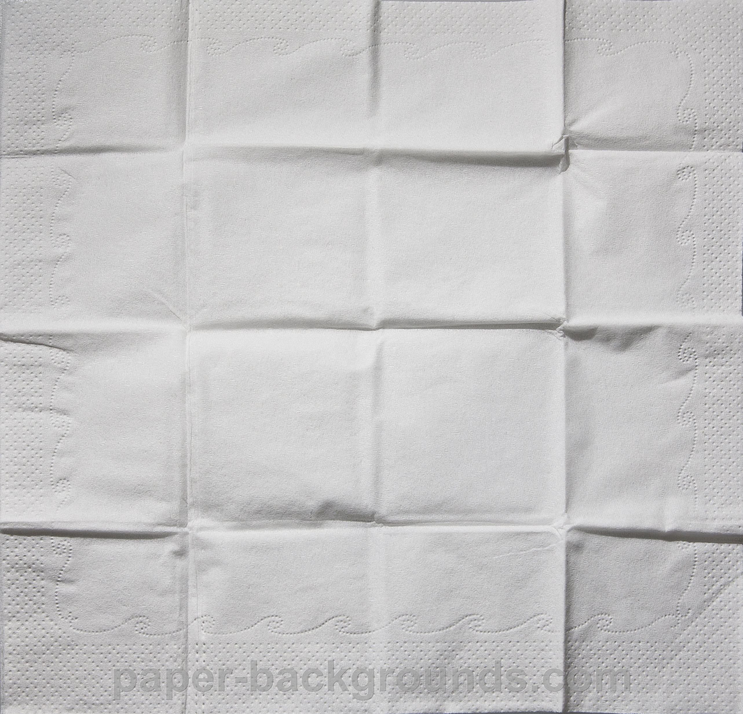 White Tissue Paper Background