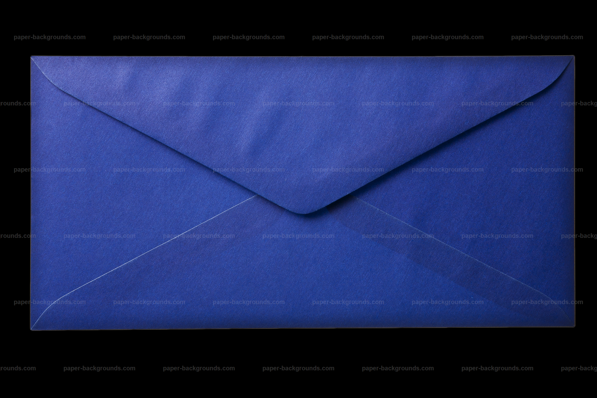 Blue Envelope Paper Background Layer HD