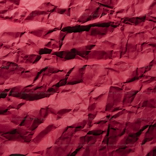 Crimpled Red Paper Texture