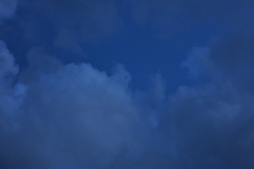 Dark Blue Clouds Texture