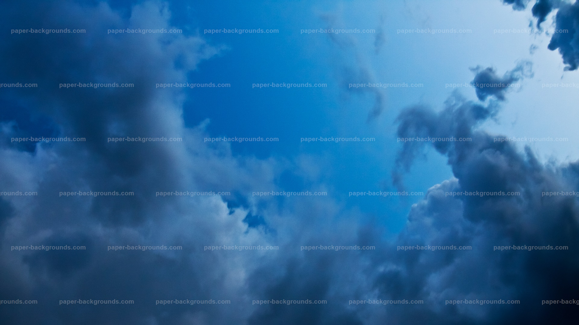 Dark Sky Clouds Background HD
