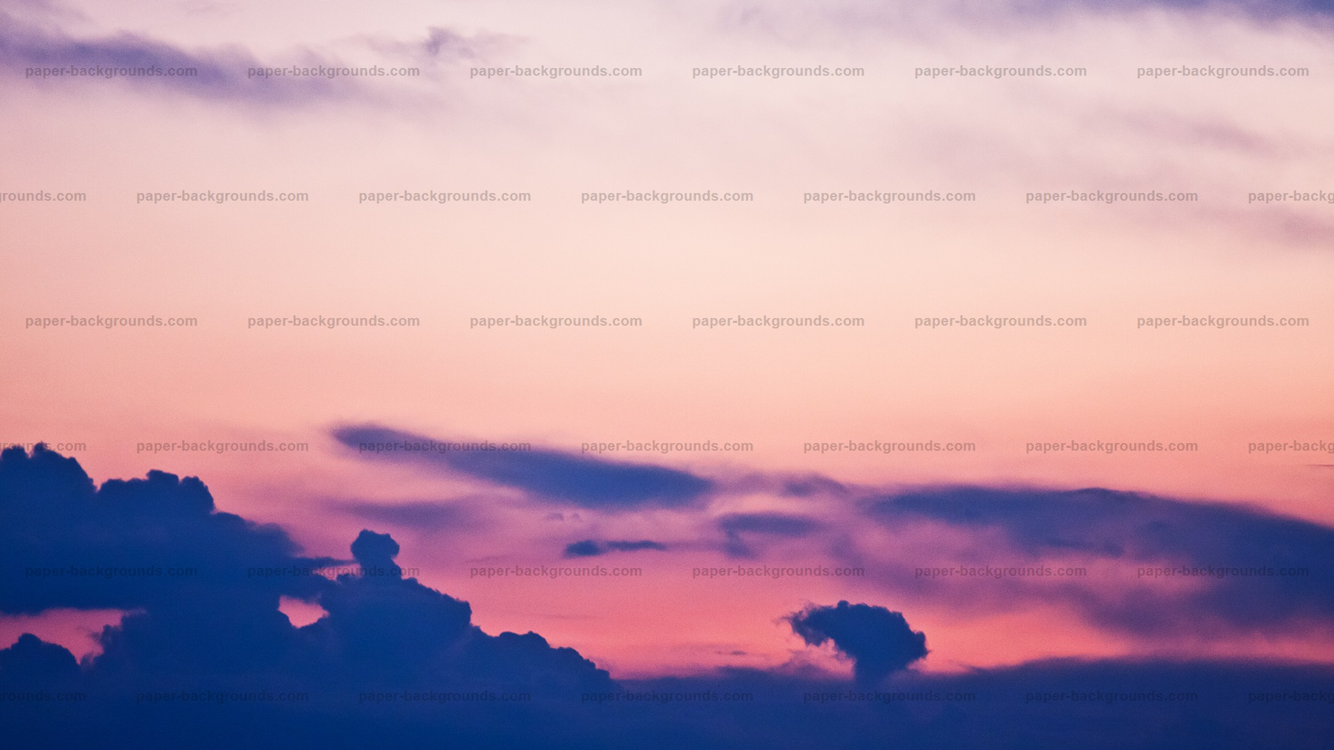 Sunset Sky Clouds Texture HD