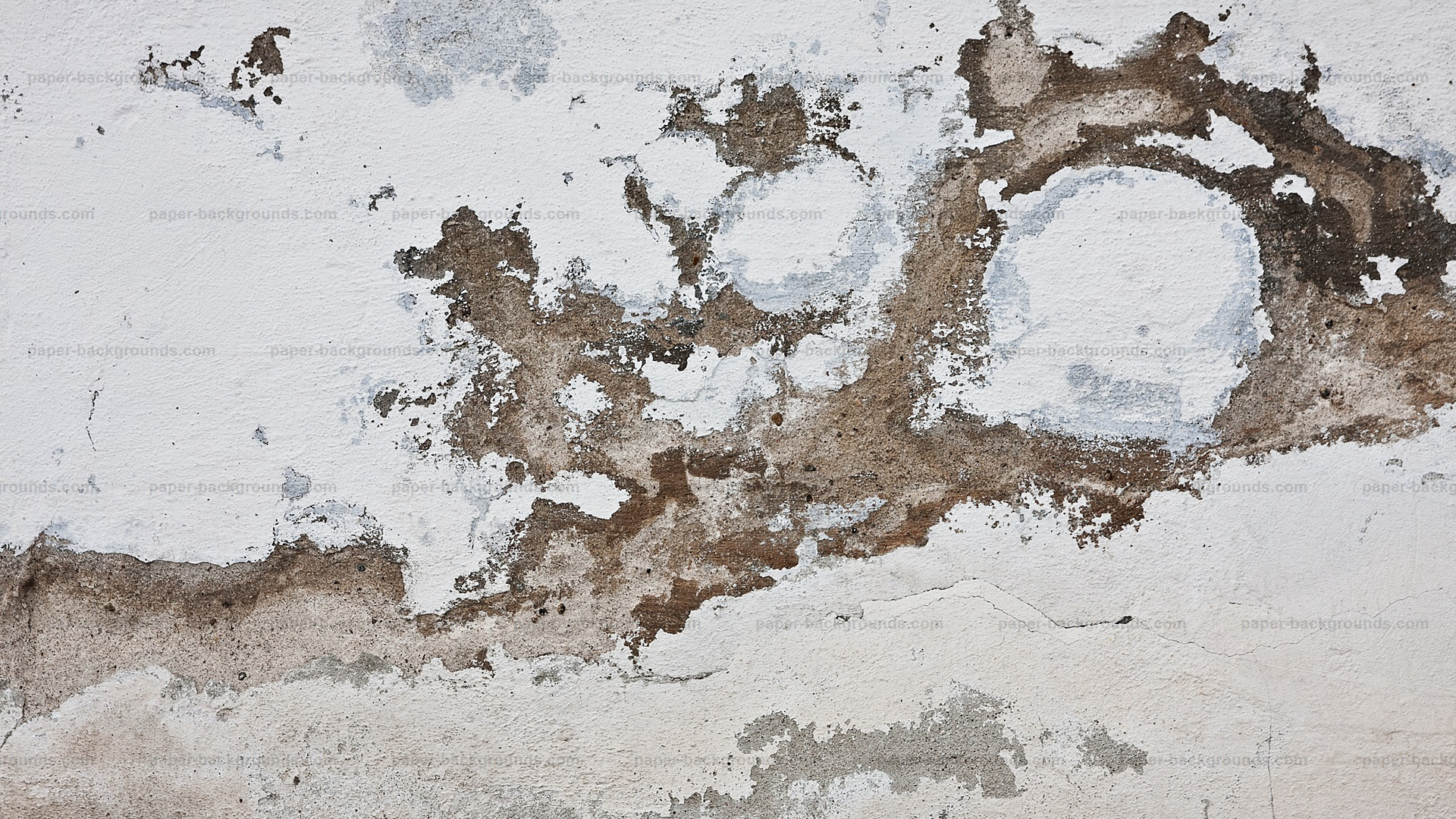 White Grunge Concrete Wall Background HD