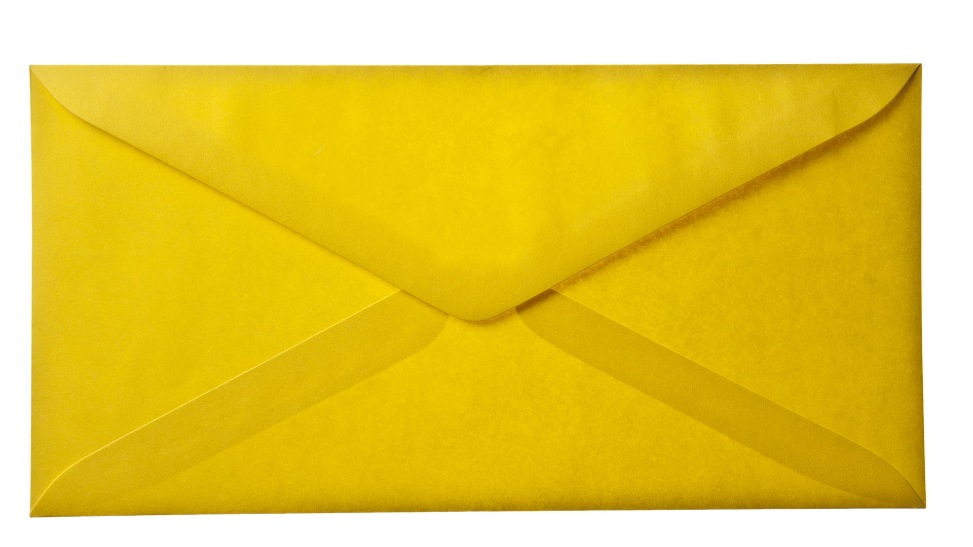 Yellow Envelope Paper Background Layer HD