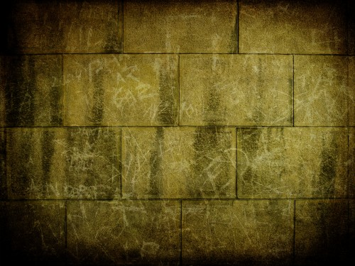 Aged Stone Wall Background Texture