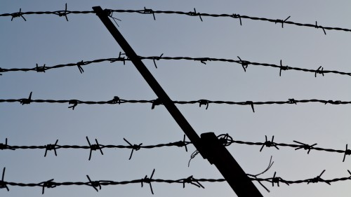 Barbed Wire Background HD