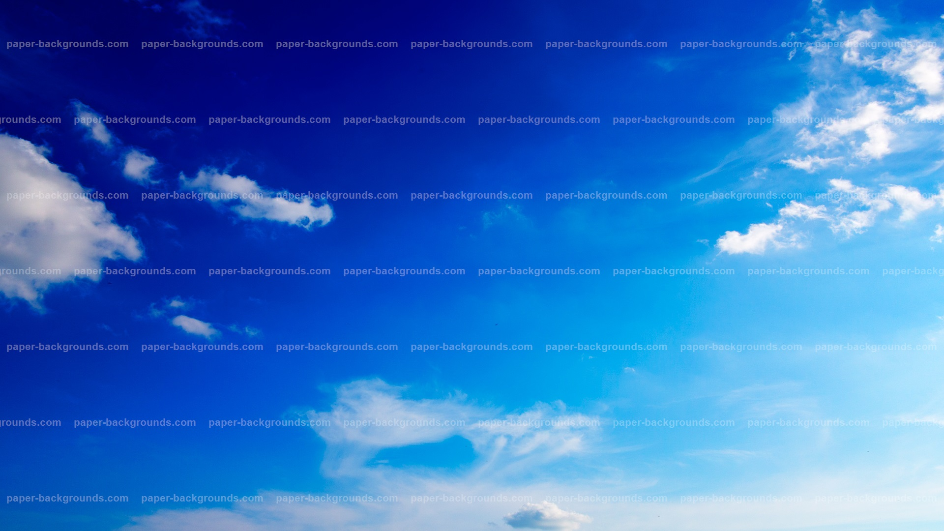 Clear Blue Sky Background HD