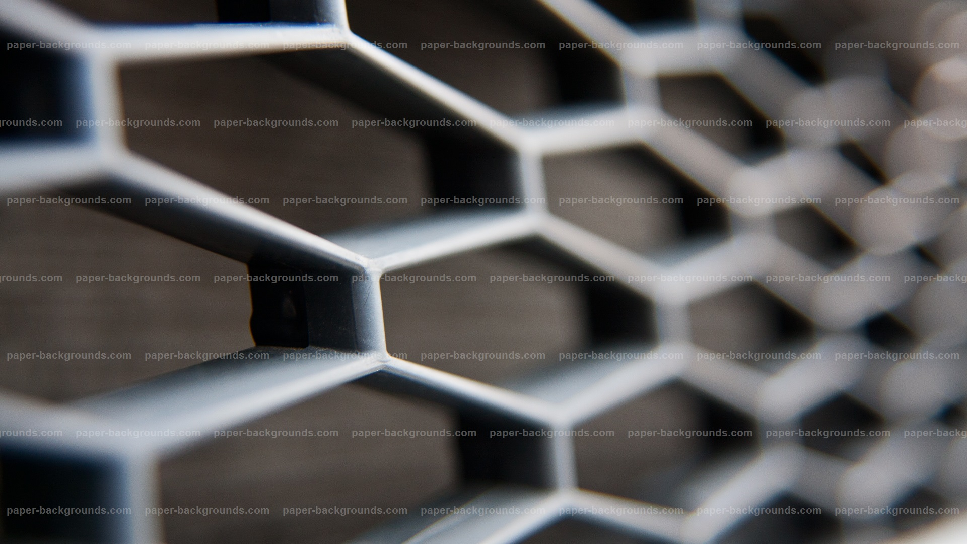 Close-up Honey Comb Plastic Grill Background HD