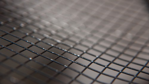 Close-up Mesh Metal Grille HD