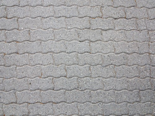 Concrete Brick Pavement Texture