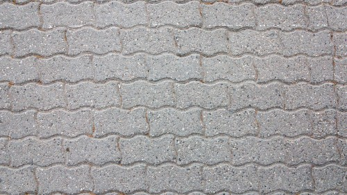 Concrete Brick Pavement Texture HD