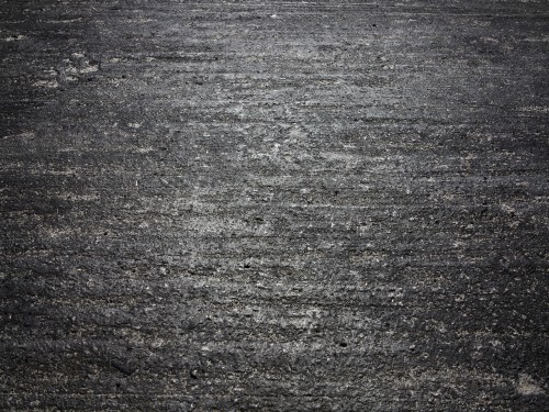 Concrete Burnout Black Rubber Texture