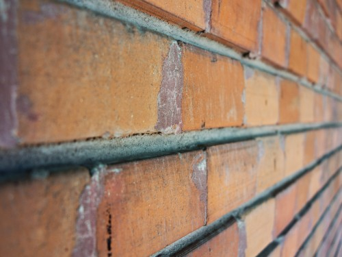 Focus Close-up Brick Wall Background HD
