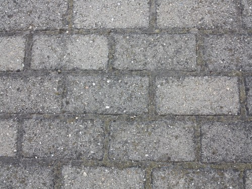 Gray Concrete Bricks Background
