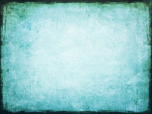 Grunge Blue Painted Wall Background