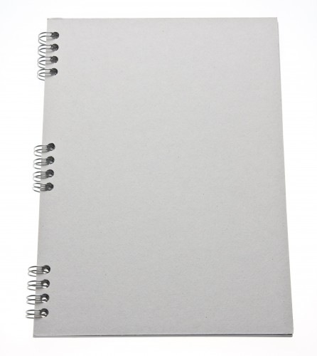 Notebook Cover Cardboard Mockup