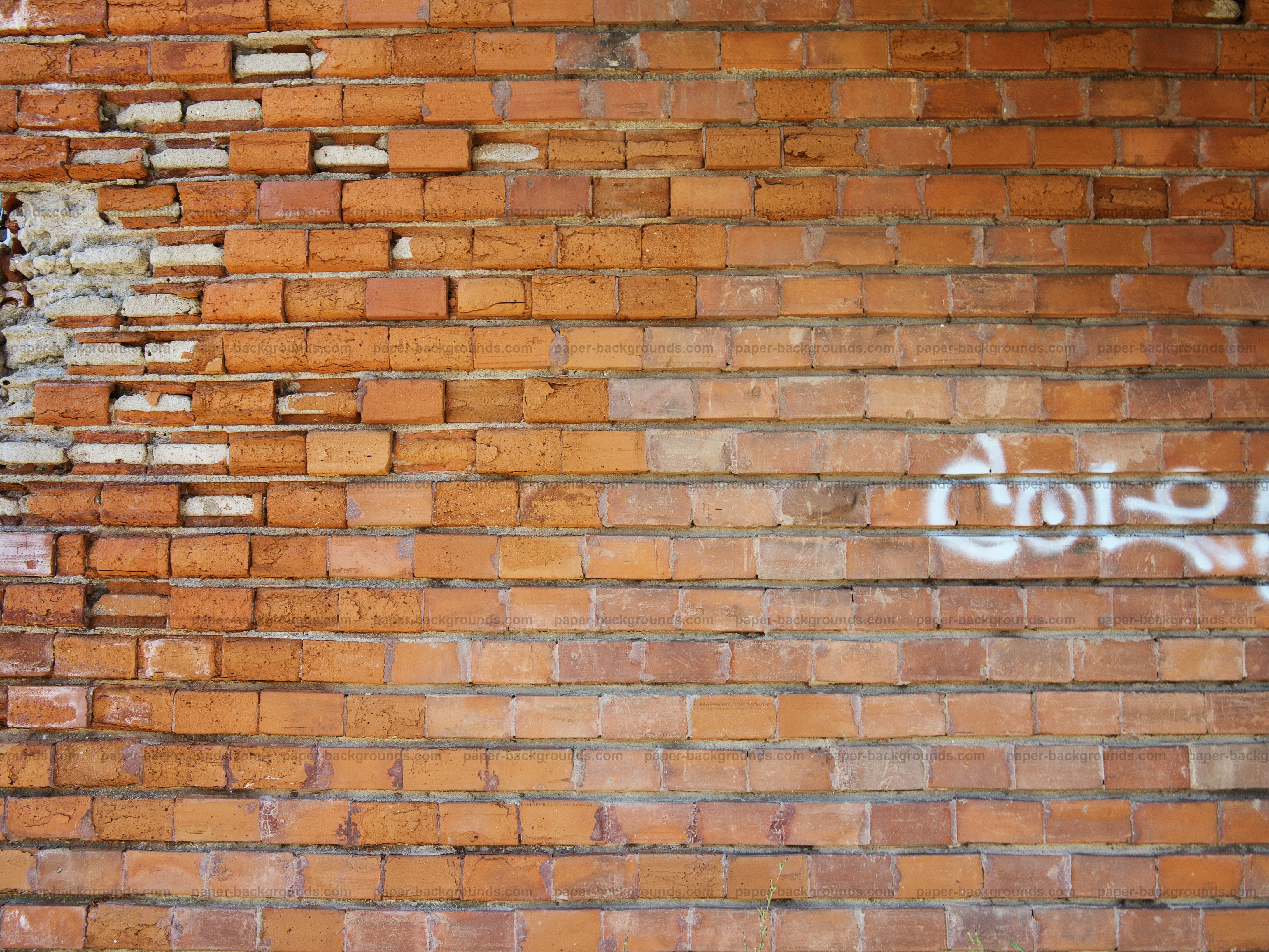 Old Brick Wall Close Up Texture Background High Resolution