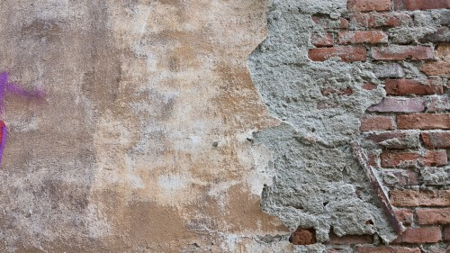 Old Yellow Wall Background Texture