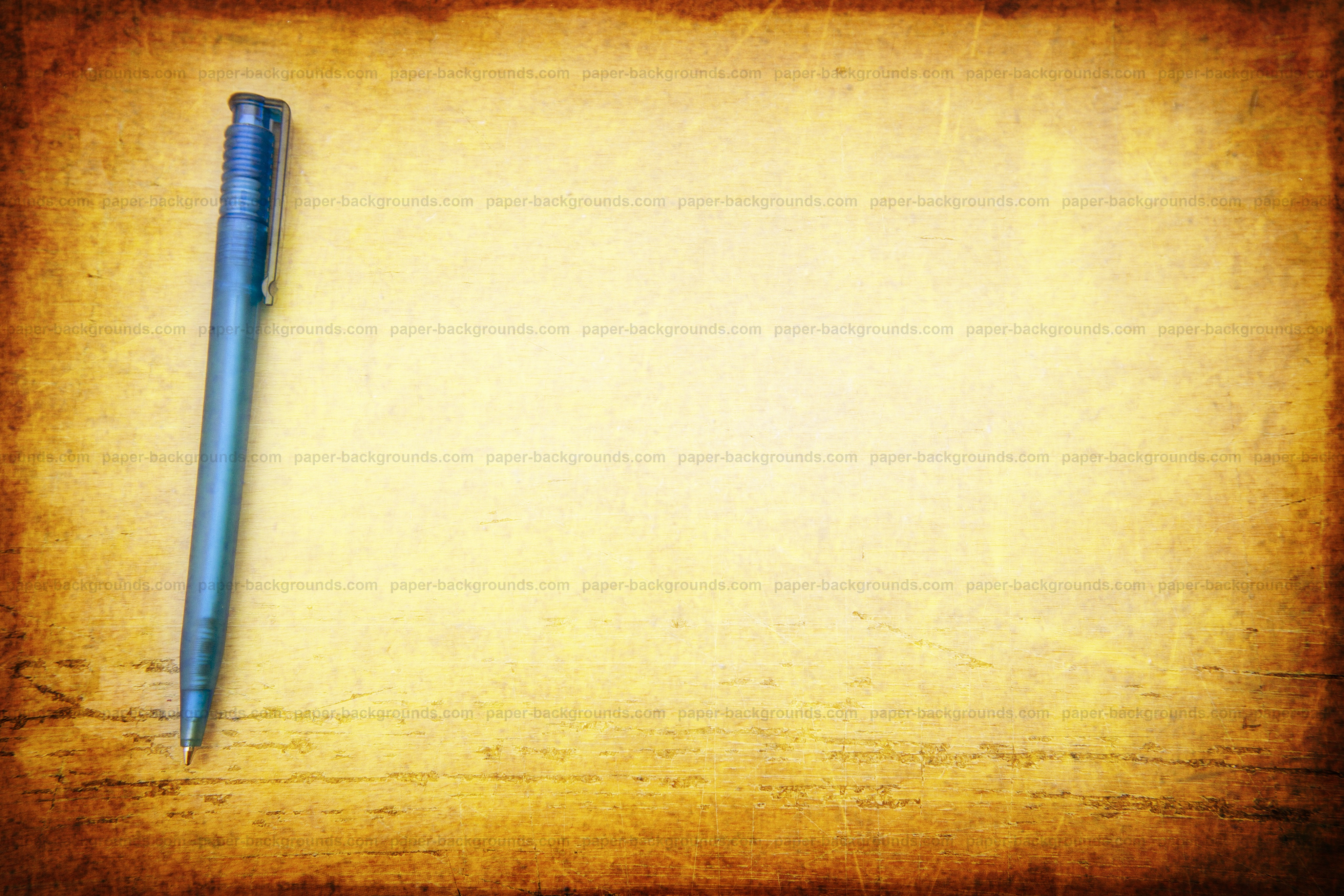 Pen on Table Vintage Background, High Resolution 4096 x 2731 pixels