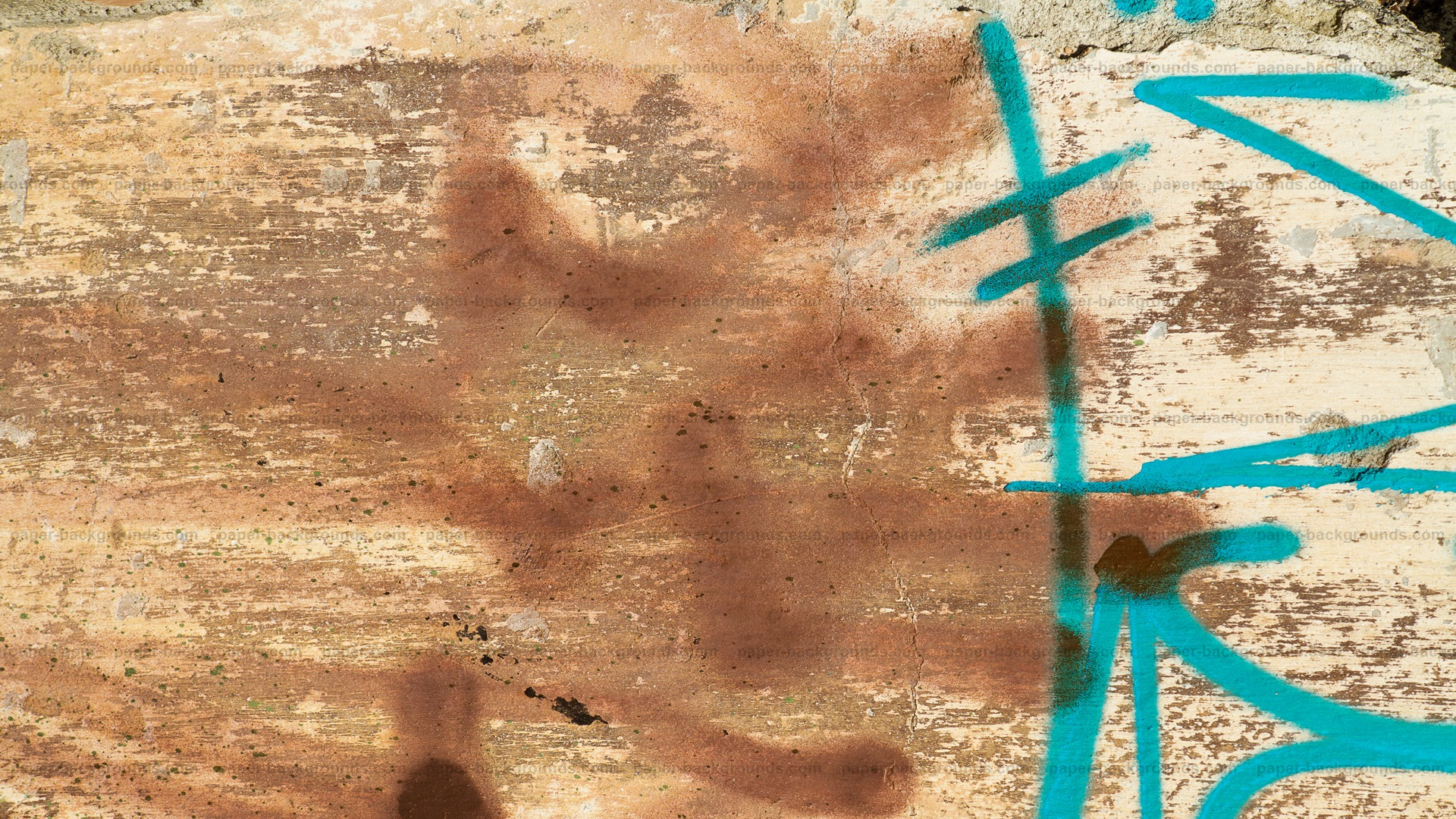 Rusty Graffiti Wall Background HD