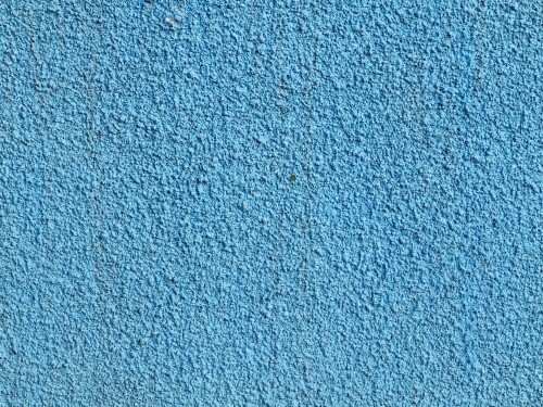 Stucco Blue Painted Wall Texture