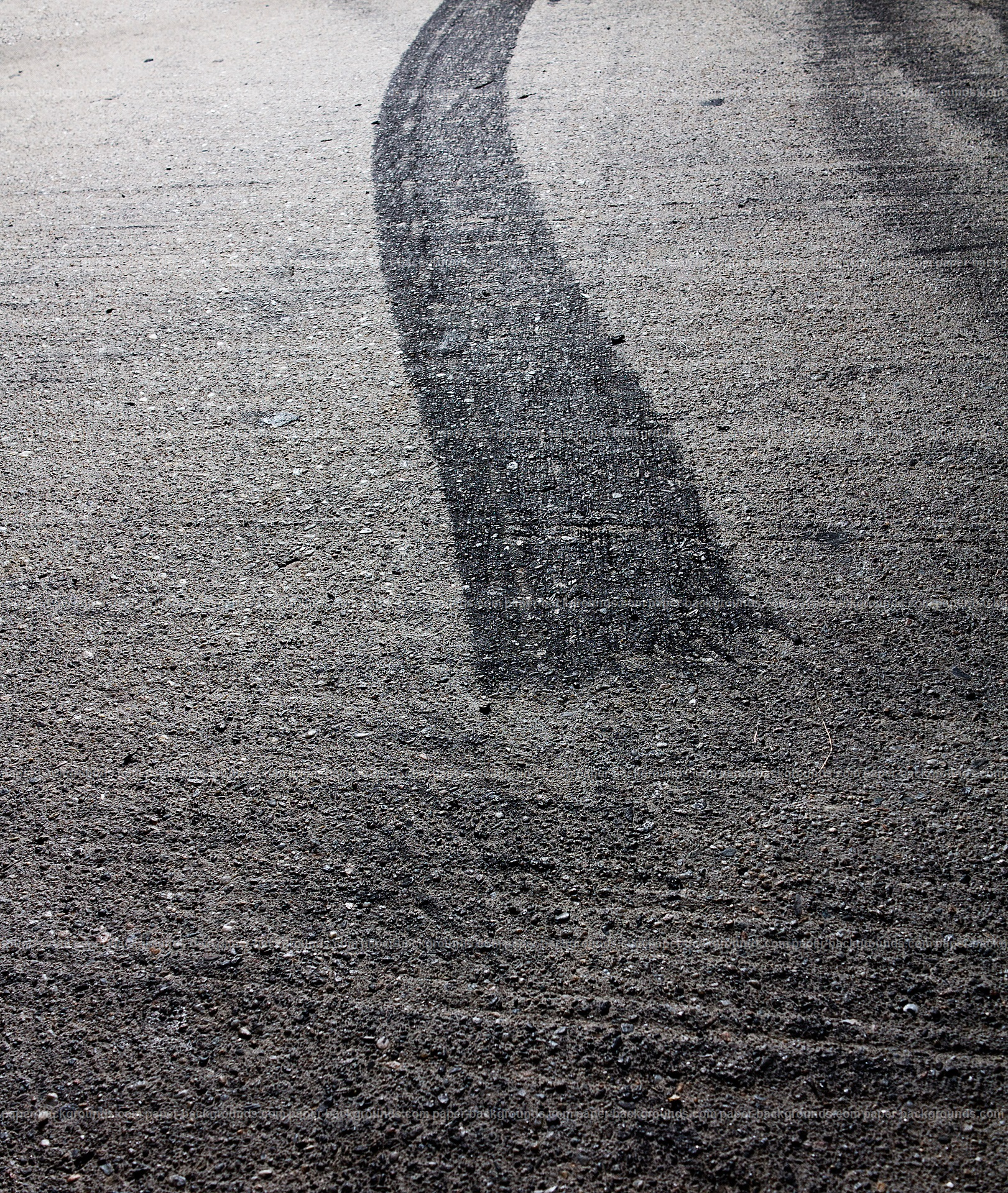 Tarmac Tire Burnout Mark HD