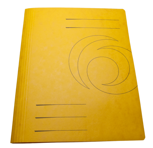 Yellow Folder Cardboard Cover