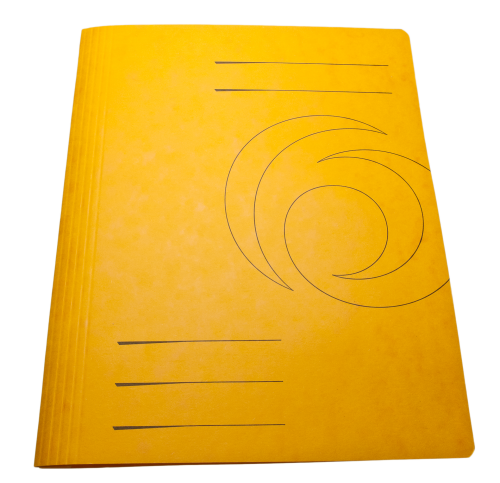 Yellow Folder Cardboard Cover HD