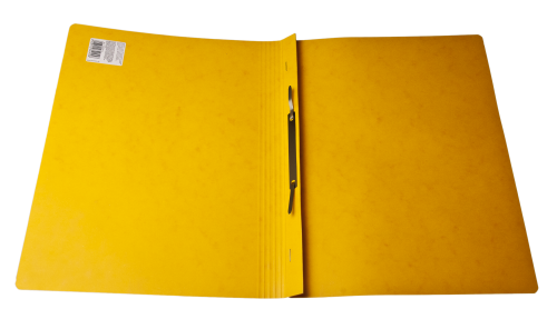 Yellow Open Paper Folder
