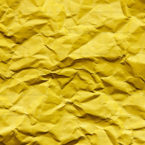 Yellow Wrinkled Paper Texture HD