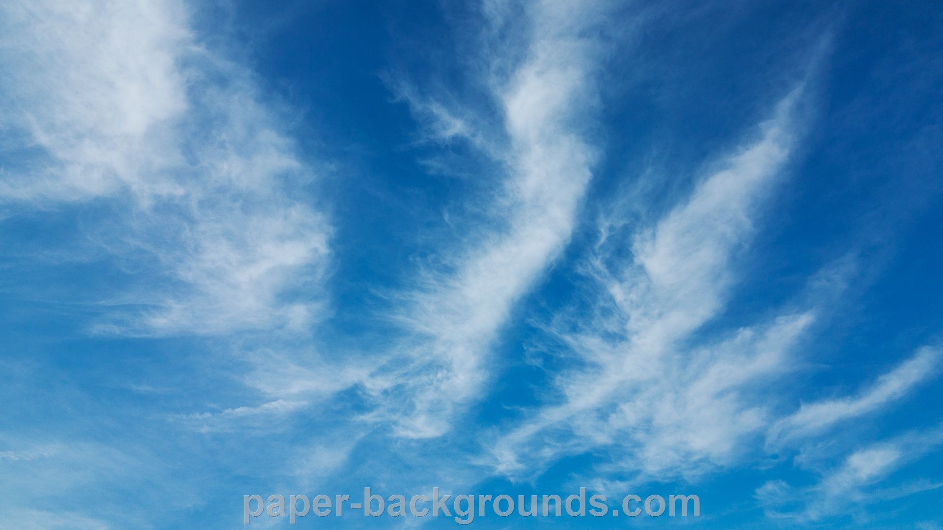 Blue Sky Clouds Background HD