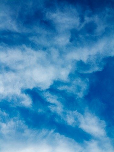 Blue Sky Clouds Texture Background HD