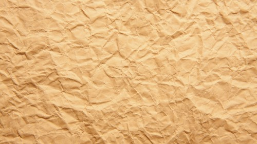 Crumpled Brown Paper Texture HD