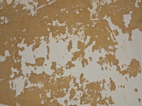 Grunge Yellow White Wall Paint Texture