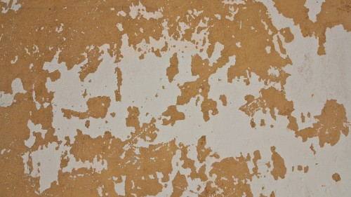 Grunge Yellow White Wall Paint Texture HD