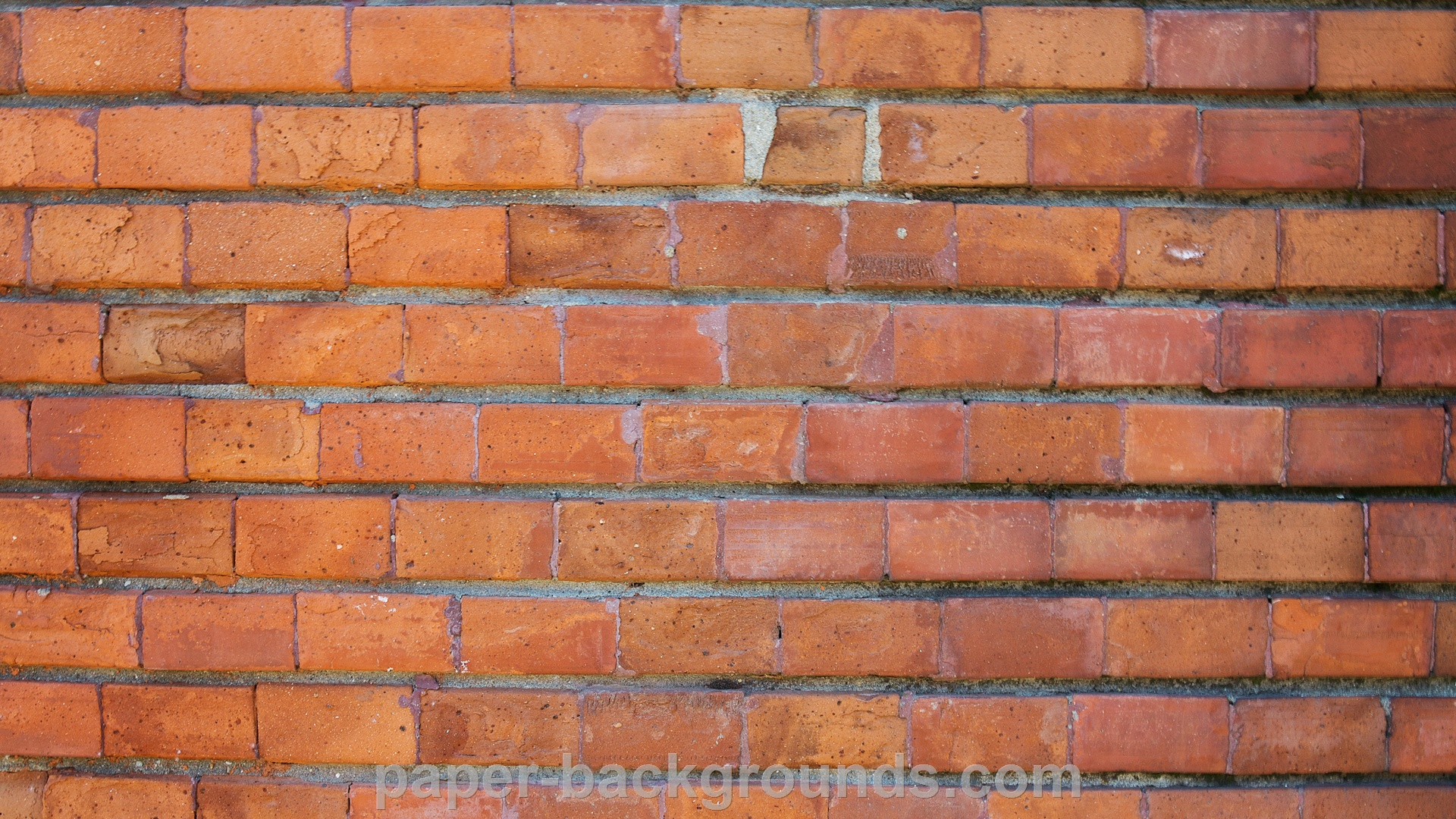 Old Red Brick Wall Texture HD