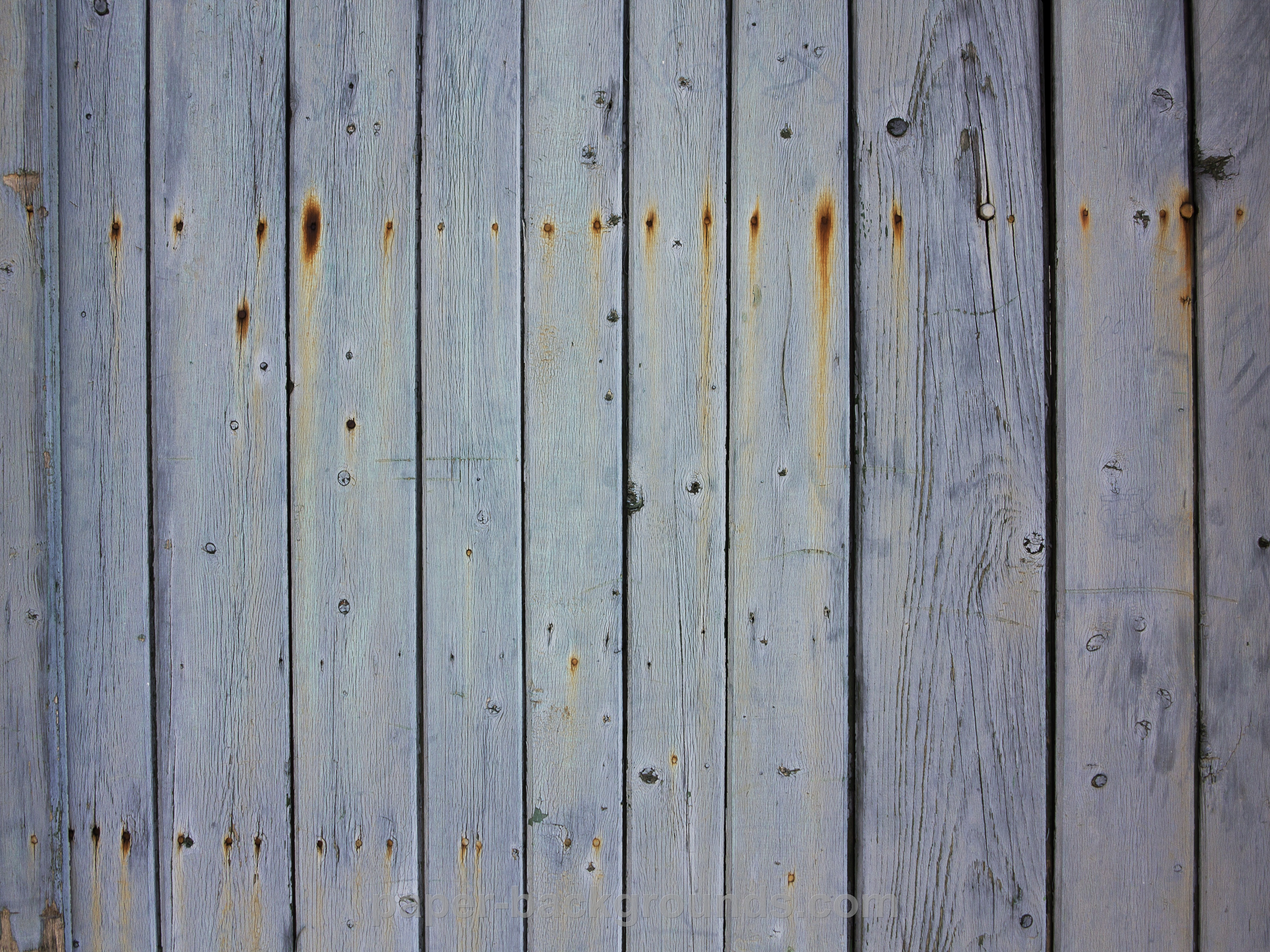 Old White Wooden Fence Texture