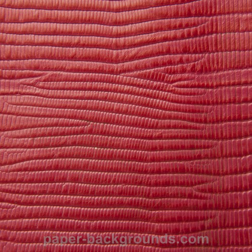 Red Embossed Crocodile Leather Texture