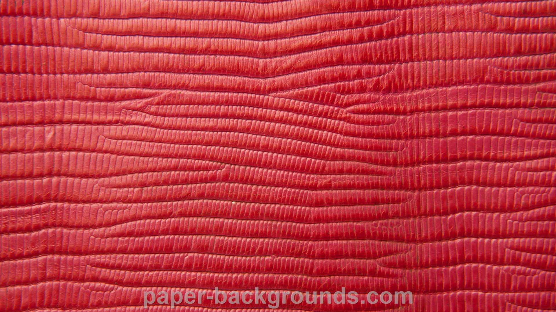 Red Embossed Crocodile Leather Texture HD