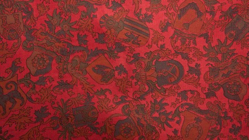 Red Fabric Chabby Patterns Background HD