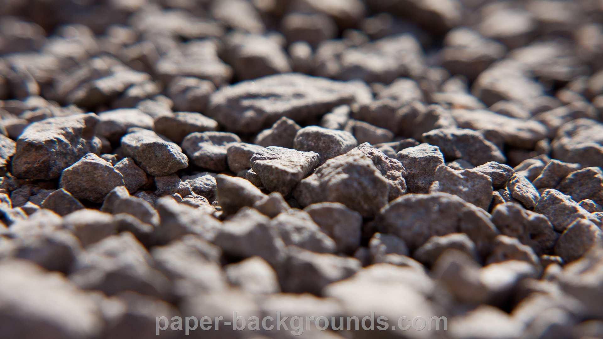 Stones Blurred Background Close-up HD